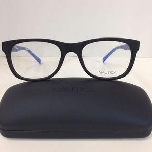 Nautica N 8141 005 Matte Black Eyeglasses